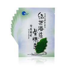 Snowy  Green Tea Seaweed Collagen Facial Essence Mask 10pcs