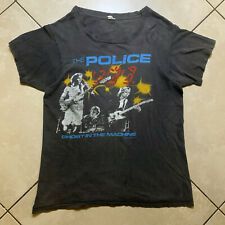 Vintage 1982 The Police Ghost In The Machine Tour T-Shirt Large VTG Screen USA L