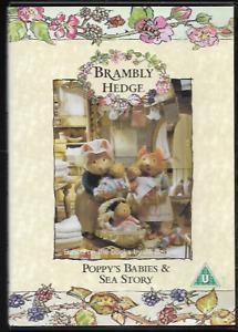 BRAMBLY HEDGE (JILL BARKLEM) POPPY'S BABIES & SEA STORY GENUINE R2 DVD