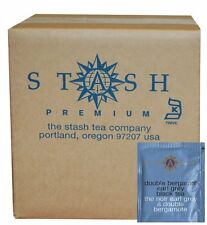 Stash Premium Double Bergamot Earl Grey Tea, Tea Bags, 100-Count Box, New