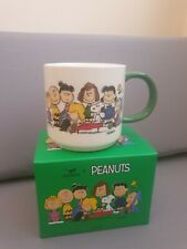 More details for official peanuts snoopy woodstock and gang mug cup