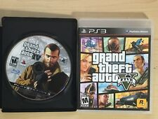 Grand Theft Auto Bundle - PS3 - GTA IV 4 And V 5 PlayStaion 3 Video Game PS3