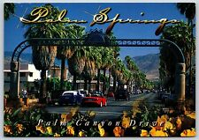 Palm Springs Ca California Aerial Tramway Valley Station Vintage Postcard D34