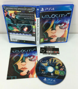 Velocity 2X Critical Mass Edition | PS4 Playstation 4 | Game Manual Booklet PAL