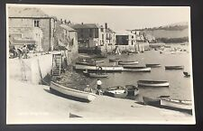 POSTCARD Salcombe BOATS Harbour BUILDINGS Judges DEVON Unposted 913