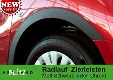 AUDI A6 C4 '94-96 Radlauf Schwarz Matt  Zierleisten Satz 4Stück Vorne/Hinten