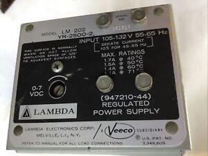 Lambda Power Supply LM 202