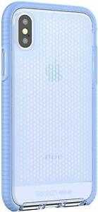 Tech21 iPhone X & iPhone XS Evo Mesh Impact Protection Case Lilac Blue T21-5936