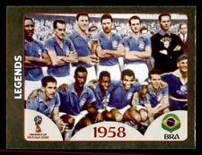 Brasil Brito Historia de la Copa Mundial #33 PANINI STICKER C350