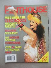 PENTHOUSE (UK) Vol. 22  No. 7 - 1987   MISS WISHPLASH CLEO ROCOS