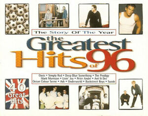 Various The Greatest Hits Of 96 Cassette .1142.