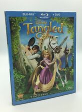 Tangled (Blu-ray+DVD, 2011; 2-Disc Set) NEW w/ Slipcover  - Authentic Disney