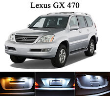 Xenon White License Plate / Tag  LED light bulbs for Lexus GX 470 (2Pcs)