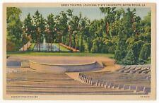 New listing Greek Theatre, Louisiana State University, Baton Rouge, Louisiana 1936