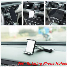 "In-Car 360° Rotation Mount Holder CD Slot For 3.5-5.5"" Mobile Phone GPS Sat Nav"