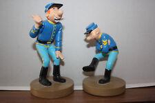 Les Tuniques Bleues - Figurines résine - Blutch & Chesterfield (Dupuis 2009)