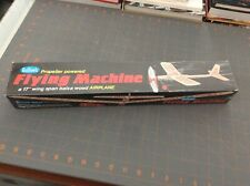GUILLOW'S FLYING MACHINE BALSA RUBBER POWERED KIT