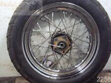 """96 Harley Davidson Softail FXSTS Springer REAR WHEEL RIM 16"""" 3/4"""" AXLE"""
