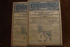 TOUR du MONDE - Ed.CHARTON - 1896 voyage aux mines d'or du TRANSVAAL - M. LAUNAY