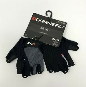 Louis Garneau Air Gel + Men's Small Cycling GLoves Black New