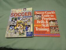 2 Different Soccer Coaching Books - Butch Lauffer & National Soccer Coaches