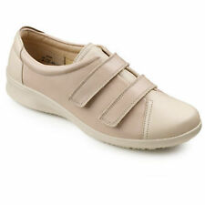 Women's Composition Leather Flat Shoes without Pattern