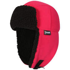 Proclimate Ladies Waterproof & Windproof Thinsulate Trapper Hat - Pink