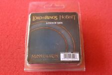 Games Workshop Lord Of The Rings Kings of Men King x4 Metal Figures GW BNIB LoTR