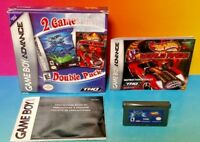Hot Wheels Velocity X + World - Game Boy Advance - Complete Box Tested Nintendo