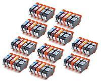 50 NON-OEM INK CARTRIDGE CANON PGI-220 CLI-221 MX860 MP560 IP4700 MP640 MP990
