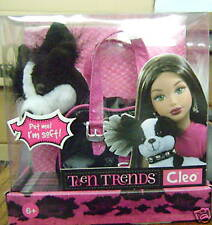 MATTEL TEEN TRENDS CLEO WITH CARRIER FOR KIANNA *NEW*