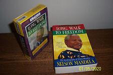 Lot 2 Long Walk to Freedom + Audio Cassette Book ABRIDGED 0316548189; 1570420572