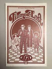 BB King-Moby Grape-Johnny & Edgar Winter- FILLMORE EAST Program -June 1971-MINT