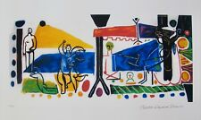 Pablo Picasso THE FAMILY Estate Signed & Stamped Limited Edition Large Giclee