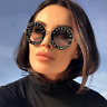 New Amazing women Sunglasses L'aveugle Par Amour Sunglasses Round Shade Sun Pro
