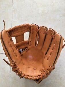 "Nokona Youth Baseball Glove Supersoft XFT-200I-TN /L Tan 11.25"" I-Web IF RHT NWT"
