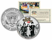 WIZARD OF OZ Cast with Wizard JFK  Kennedy Half Dollar US Coin *Licensed*