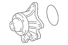 OEM TOYOTA CELICA, COROLLA, MATRIX WATER PUMP W/GASKET 16100-29146 OLDER MODELS