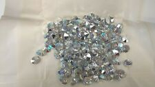 full package,144 west german oval TTC stones,12x10mm crystal AB/foiled