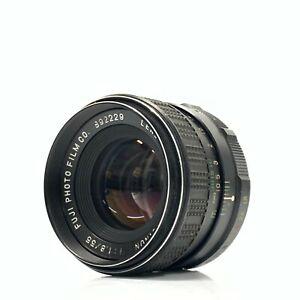 Fuji EBC Fujinon f/1.8 55mm Lens for M42 SLR MF Camera Lens Japan - Exc- TK01T