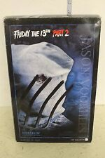 """Sideshow Friday the 13th Part 2 """"Jason Voorhees"""" 12in Figure in box"""
