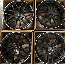 21 OEM AMG GLE450 GLE43 POWDER BLACK FORGED NEW MODEL 2017-2018 MERCEDES WHEELS