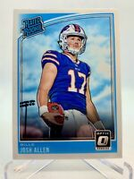 Josh Allen 2018 Donruss Optic Rated RC Rookie #154 Buffalo Bills