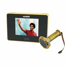 Mirilla Puerta Digital Facil Instalacion Vision Perfecta con Poca Luz Seguridad