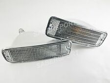 -set-of-pair-clear-front-park-signal-bumper-lights-for-19961998-toyota-4runner