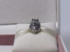 New w/Box Pandora King of the Jungle Lion w/ Crown Sterling Silver Charm 791377