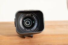 Leica ELMARIT-M 28mm f/2.8 Aspherical Lens w/ hood, rear cap, and case - Black