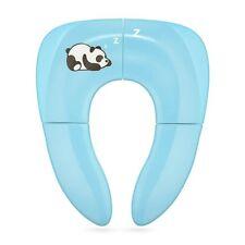 Siège Wc Pliable Enfants Bébé Réducteur Protecteur Portable Pot Bleu