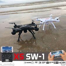 X5SW-1 Pro Black Wifi FPV Camera Drone 2.4Ghz RTF 4CH RC with 0.3MP Quadcopter