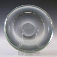 SIGNED Holmegaard Per Lutken Smokey Blue Glass Bowl